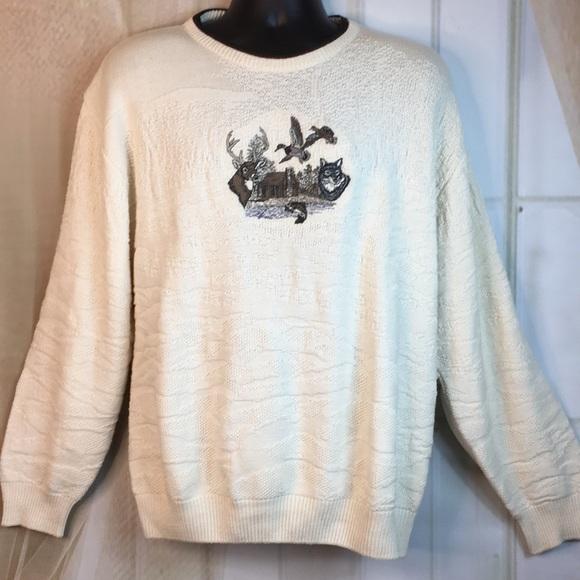 Shenandoah Sweaters - Shenandoah Wildlife Embroidered Sweater